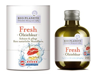 LOGO_Oil Pulling Treatment Fresh - A composition of eight natural ingredients for your oral hygiene