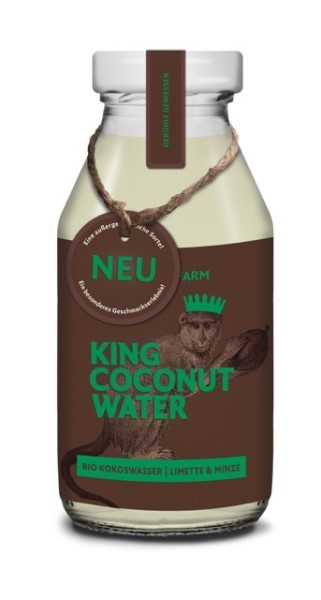 LOGO_KING COCONUT WATER – LIMETTE & MINZE