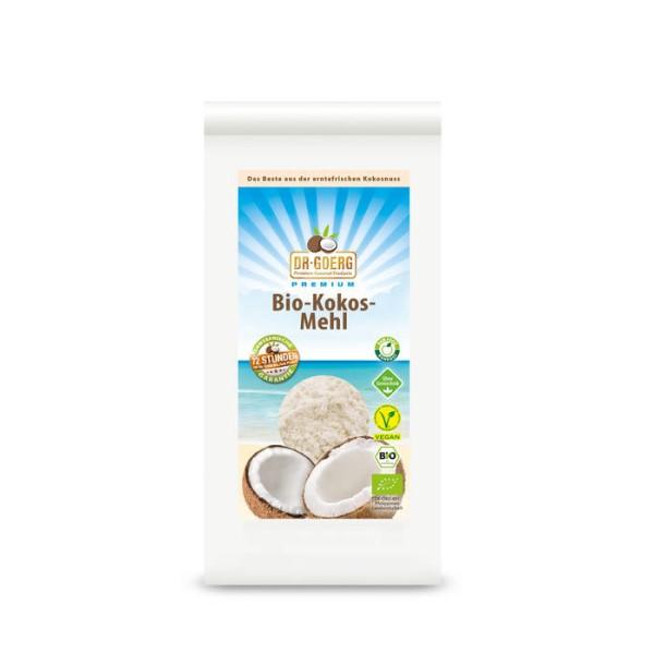 LOGO_Premium Raw Organic Coconut Flour, 600 g