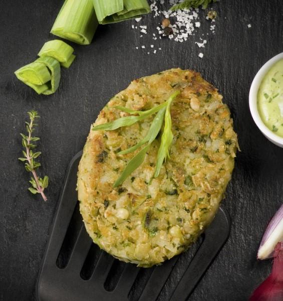LOGO_Organic green lentil vegetal frozen Steak.