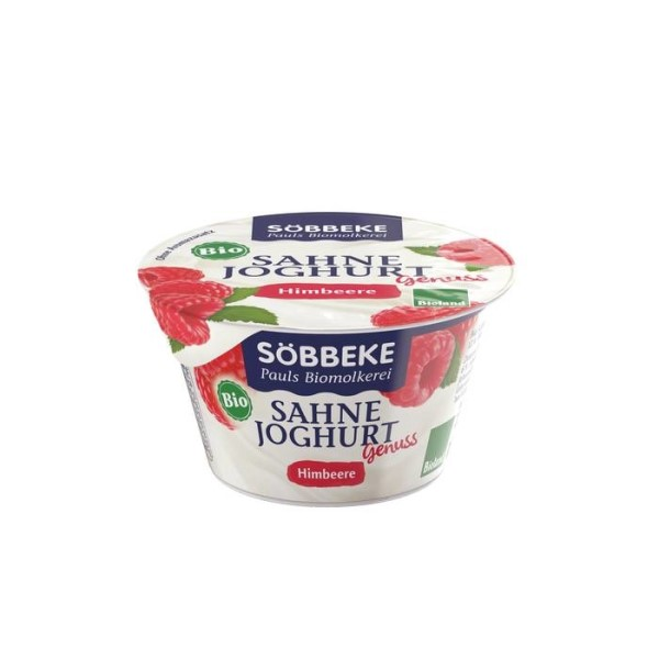 LOGO_Cream yogurt mild with raspberry, 12 % fat fat in the dairy portion