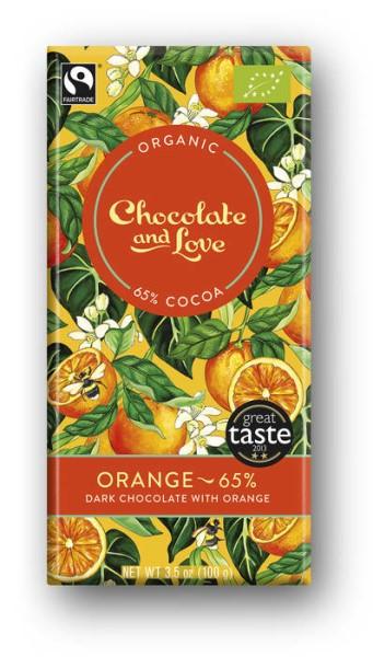 LOGO_Dark chocolate with orange - 65%