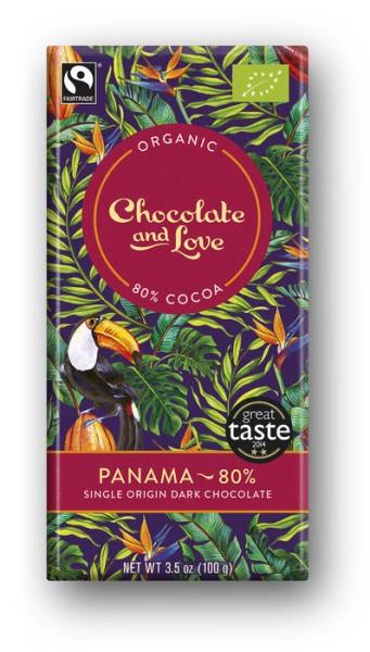 LOGO_Extra dark chocolate - single origin Panama - 80%