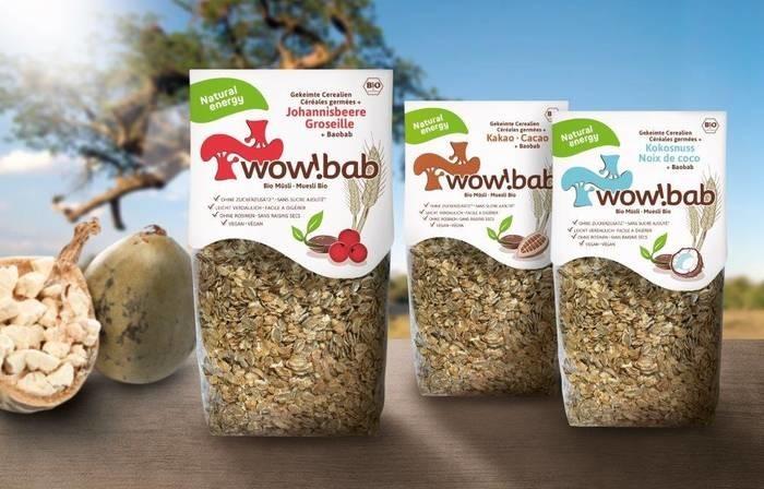 LOGO_wow!bab Müsli  Johannisbeere – mit gekeimten Saaten + Baobab