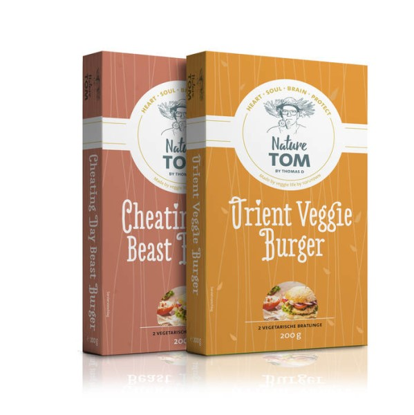 LOGO_Green Power Steaks, Oriental Veggie Burger, Cheat Day Beast Burger