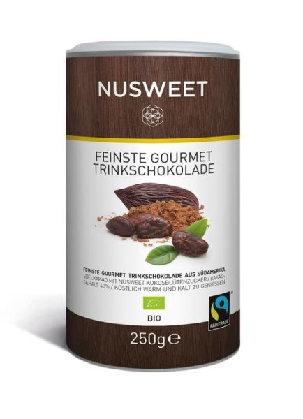 LOGO_NUSWEET Finest Gourmet Drinking Chocolate