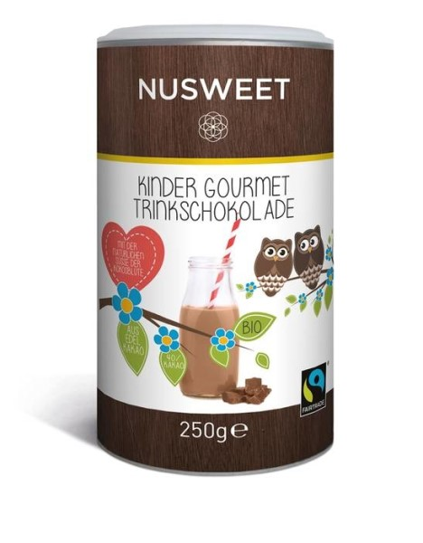 LOGO_NUSWEET Kinder Gourmet Drinking Chocolate with Coconut Sugar