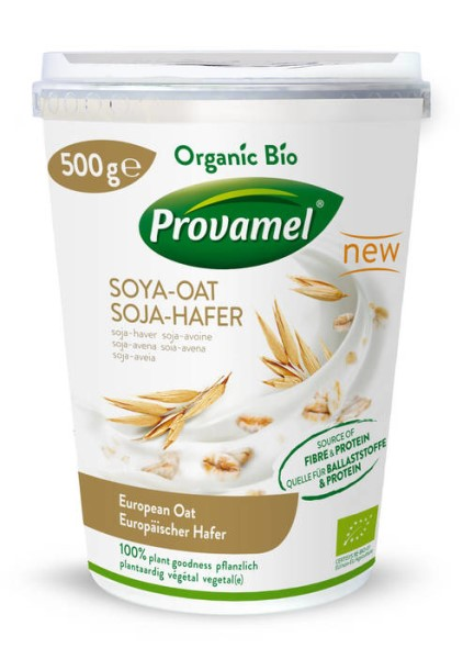 LOGO_Provamel Plant-Based Alternative to Yogurt Soya-Oat