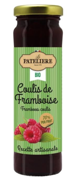LOGO_Organic Raspberry coulis