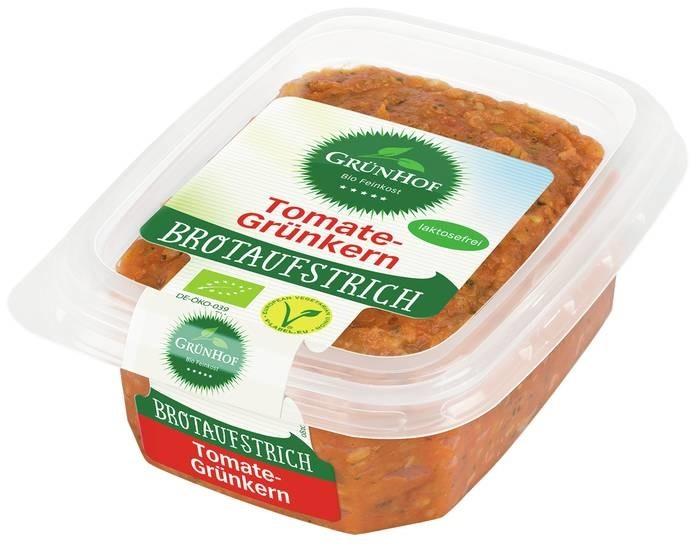 LOGO_Brotaufstrich Tomate-Grünkern mit Leinsamen