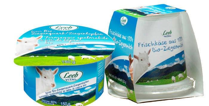 LOGO_Leeb Vital organic goat cream cheese, organic goat curd