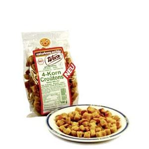 LOGO_4-Korn-Croutons, glutenfrei, 100 g