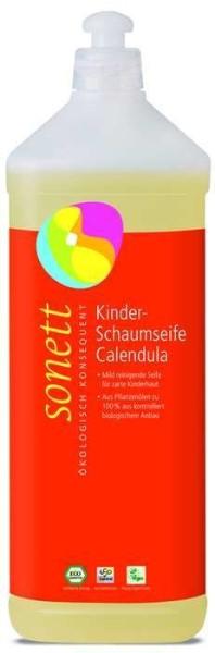 LOGO_Kinder Schaumseife Calendula 1 l