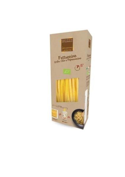LOGO_Ready to cook meals with Fettuccine di Campofilne and Truffle oil sauce.