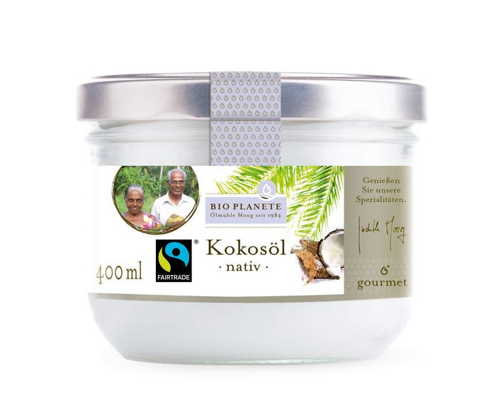 LOGO_Kokosöl nativ - FAIR TRADE, 400 g