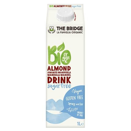 LOGO_ORGANIC ALMOND DRINK SUGARFREE
