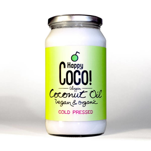 LOGO_500 g or 1 kg Virgin Coconut Oil, Fairtrade, Organic, Raw from Sri Lanka
