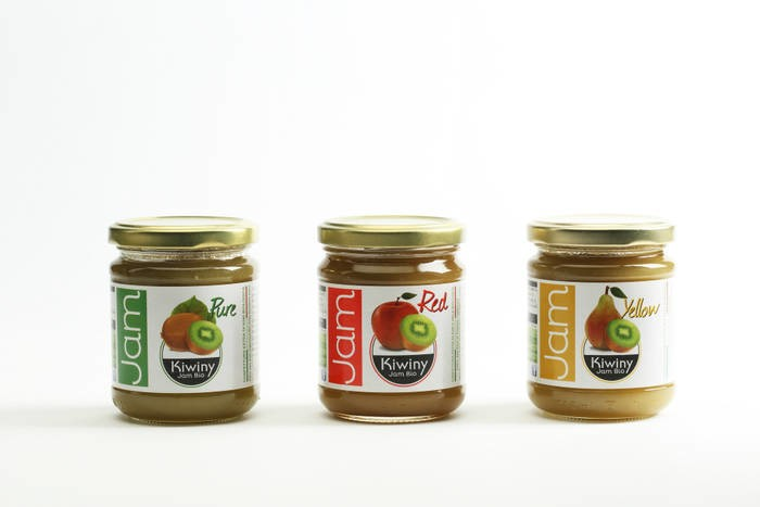 LOGO_3x verschiedene Kiwiny Marmeladen