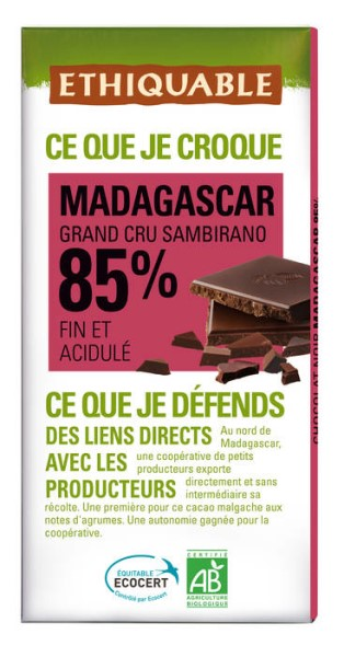 LOGO_ETHIQUABLE DARK CHOCOLATE 85% MADAGASCAR