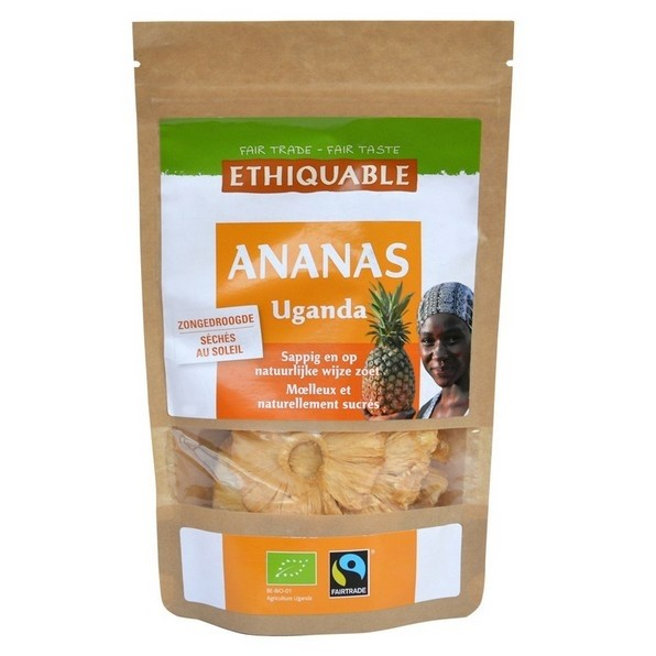 LOGO_Dried Pineapple from Uganda 80g
