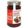 LOGO_Strawberry and Rhubarb Extra jam 280g