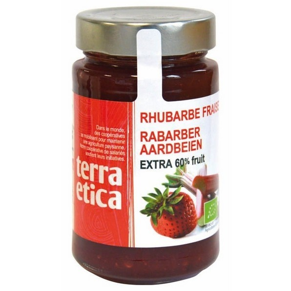 LOGO_Strawberry and Rhubarb Extra jam 280g
