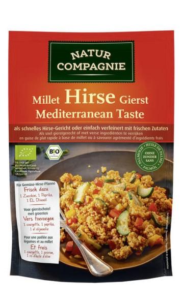 LOGO_NATUR COMPAGNIE Halbfertiggericht Hirse - Mediterranean Taste