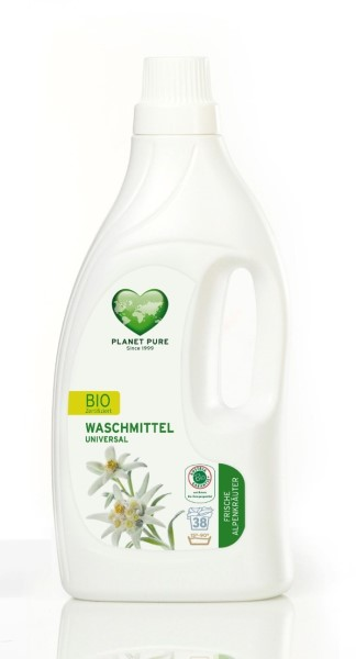 LOGO_ORGANIC LAUNDRY LIQUID UNIVERSAL FRESH MOUNTAIN HERBS