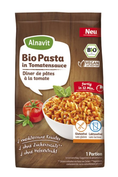 LOGO_Organic Pasta in Tomato Sauce