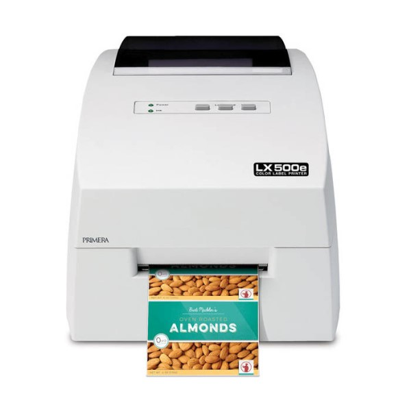 LOGO_LX500e Color Label Printer: Primera's new compact entry model - perfect for short production runs
