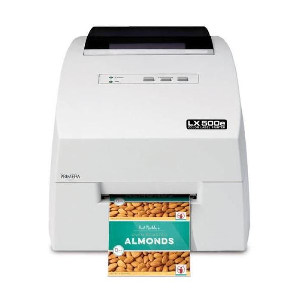 LOGO_LX500e Farb-Etikettendrucker: Primeras neues kompaktes Einstiegsmodell  - ideal für Kleinauflagen