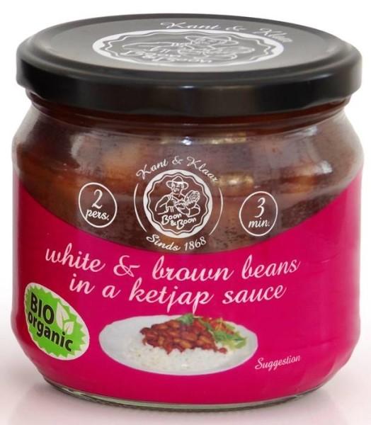 LOGO_White beans & Brown beans in Oriental Ketjap sauce