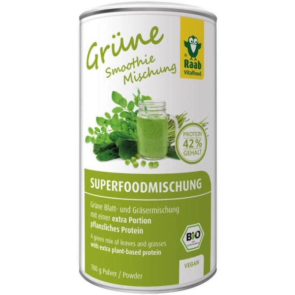 LOGO_Bio Superfoodmischung grün
