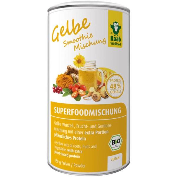LOGO_Bio Superfoodmischung gelb