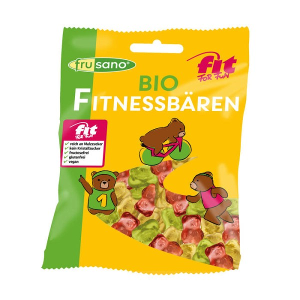 LOGO_Bio Fit For Fun Fitnessbären von Frusano