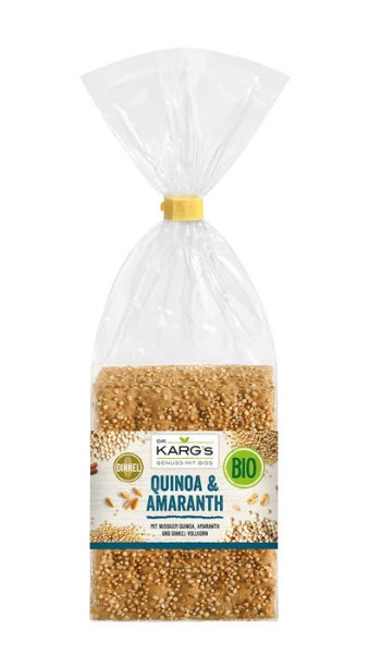 LOGO_Organic crispbread Quinoa & Amaranth