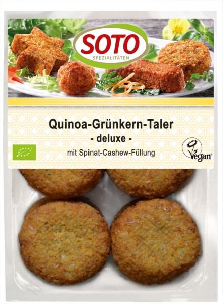 "LOGO_Quinoa-Green Spelt Bites ""deluxe"" -vegan-"