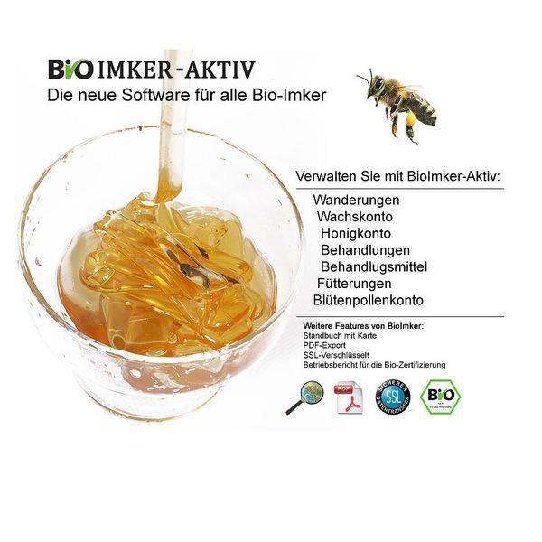 LOGO_Online-Software für Bio-Imkerei