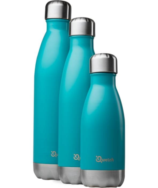 LOGO_Qwetch insulated stainless steel Bottle