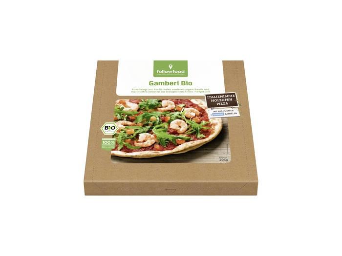 LOGO_followfood Pizza Gamberi Bio 293g