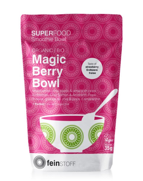 LOGO_SUPERFOOD Smoothie Bowl: BIO Magic Berry Bowl