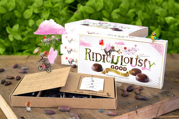 LOGO_Ridiculously Good - Organic Raw Chocolates - Assorted Box