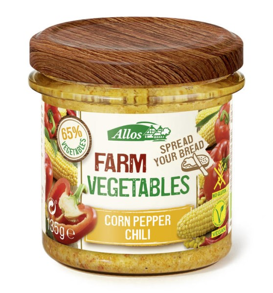 LOGO_Farm vegetables – Corn Pepper Chili