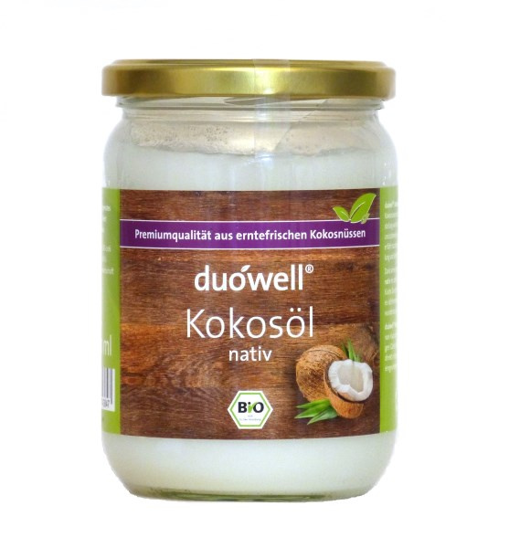 LOGO_duówell® Virgin Coconut Oil Organic