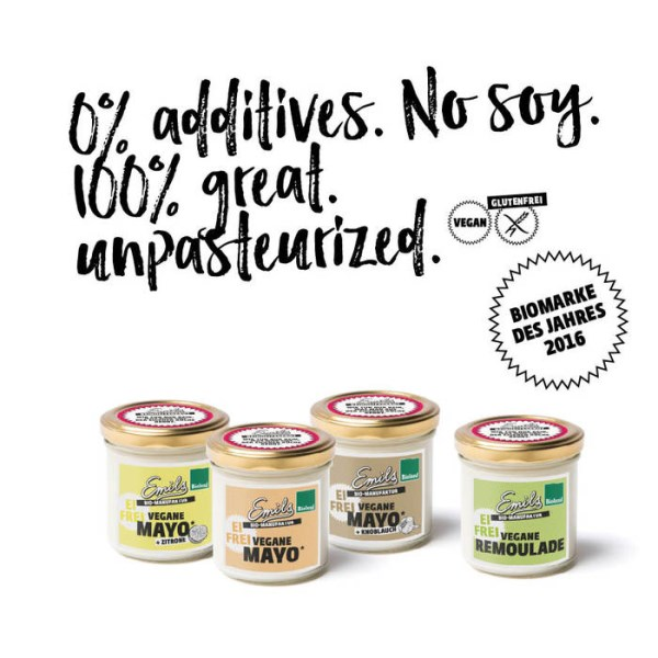 LOGO_vegan Mayo, zero additives and soy free