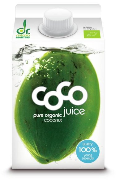 LOGO_coco juice pure - 500ml Elopak with screw cap