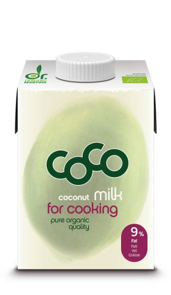 LOGO_coco milk for cooking - 500ml Elopak with screw cap