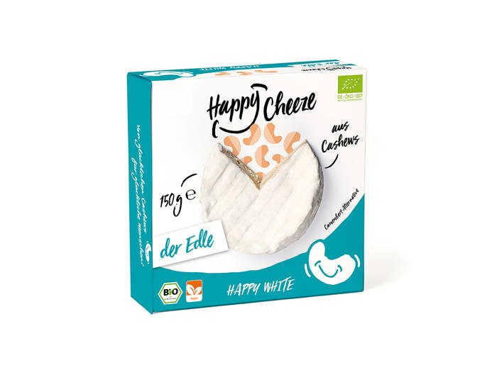 LOGO_Happy White, vegane Camembert-Alternative
