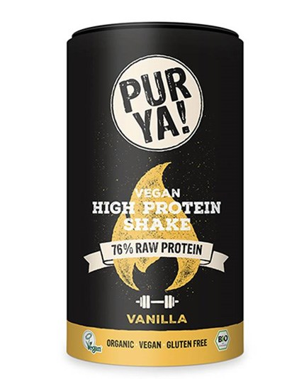 LOGO_PURYA! Bio vegan High Protein Shake - Vanilla