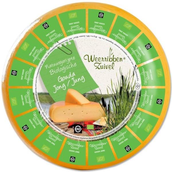 LOGO_Weeribben Zuivel Organic Gouda Cheese 50+